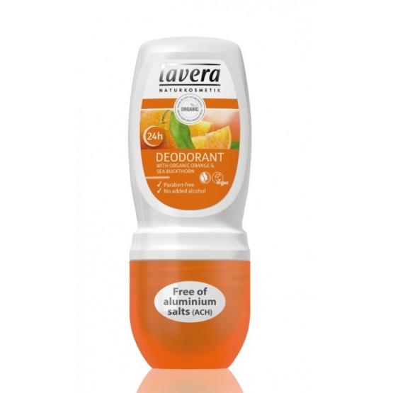 Deodorant roll-on bio fara alcool Portocale si Catina, 50 ml - LAVERA