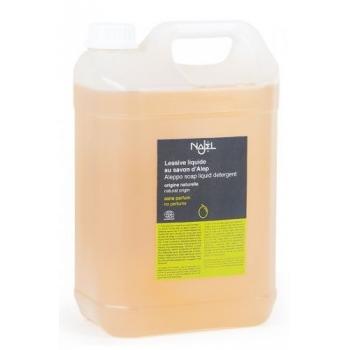Detergent ecologic pentru rufe cu sapun de Alep, fara parfum, 5L - NAJEL