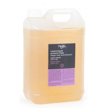 Detergent lichid pentru rufe cu sapun de Alep si iasomie, 5L - NAJEL