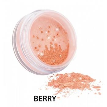 Diamond Sparkle Blush fard de obraz si iluminator, Berry - ZUII Organic