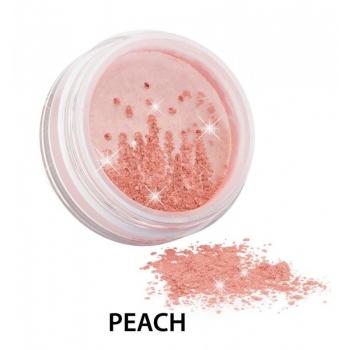 Diamond Sparkle Blush fard de obraz si iluminator, Peach - ZUII Organic