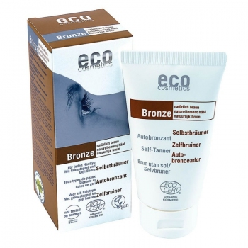Fluid autobronzant bio pentru fata si corp cu rodie si extract de goji, 75 ml - Eco Cosmetics…