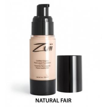 Fond de ten organic cu ingrediente florale, Natural Fair - ZUII Organic