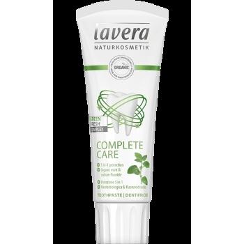 Pasta de dinti bio Complete Care cu fluor, 75ml - LAVERA