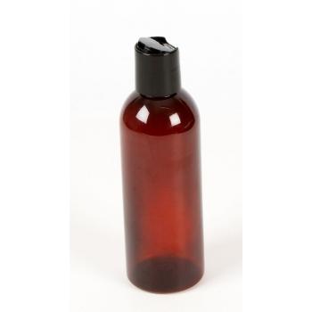 Sticla PET ambra cu capac disc-top, 200 ml - NAJEL