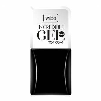 Top coat Incredible Gel - Wibo