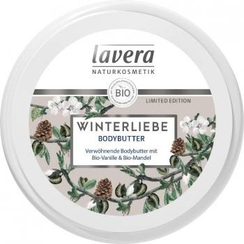 Unt de corp cu vanilie si migdale Winter Love, editie limitata, 150ml - LAVERA