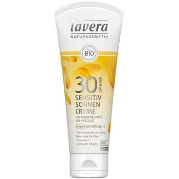 NEW Crema bio protectie solara inalta FPS 30, piele sensibila, 100ml - LAVERA
