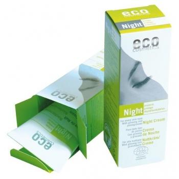 Crema bio de noapte cu ginseng si rodie - Eco Cosmetics