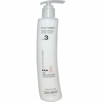 Pasul 3: Crema hidratanta de corp Giovanni DTox cu antioxidanti, 250 ml