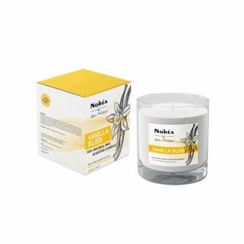 Lumanare parfumata din soia, Nohea, Vanilla Bliss, 220g