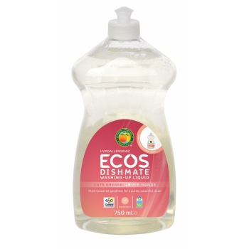 Solutie eco Earth Friendly Products cu grapefruit pt vase/biberoane, 750ml