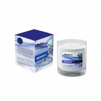 Lumanare parfumata din soia, Nohea, Midnight, 220g