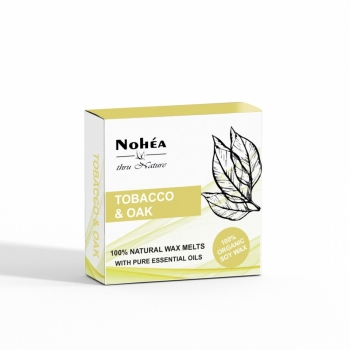 Pastile parfumate din ceara de soia, Nohea Tobacco Oak 40g