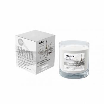 Lumanare parfumata din soia, Nohea, J'Adore Paris, 220g