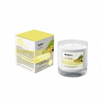 Lumanare parfumata din soia, Nohea, Lemongrass & Ginger, 220g